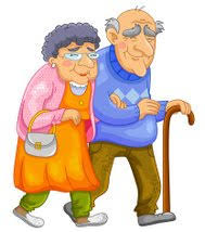 Old couple by Clipartlogo.com