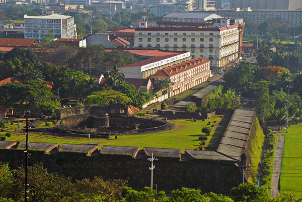 Intramuros Wall by Wikipedia