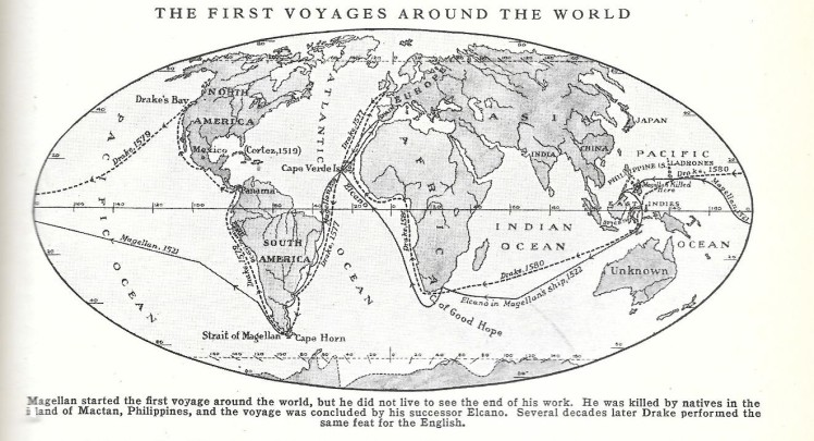 Magellan's map