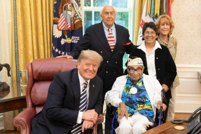 Ray Chavez at the White House.