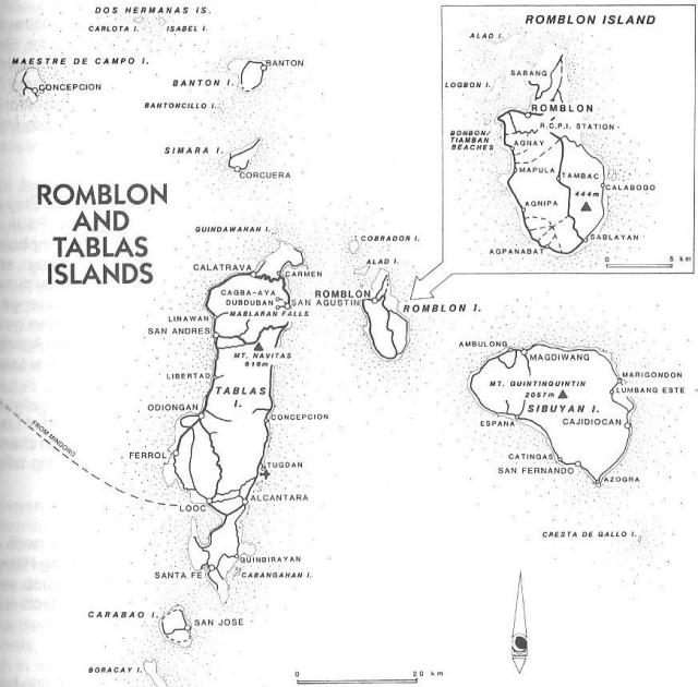 Romblon Map